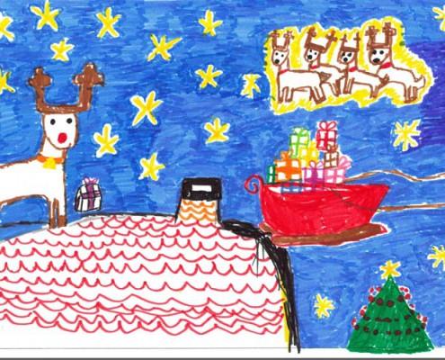 Concurso de felicitaciones navideñas 2014