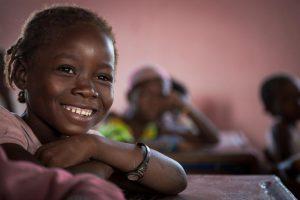 Vacunacion infantil en Mozambique