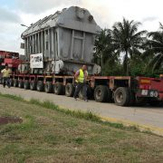 Transporte de carga sobredimensionada