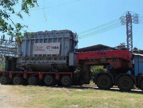 Logística para el suministro eléctrico en Cuba